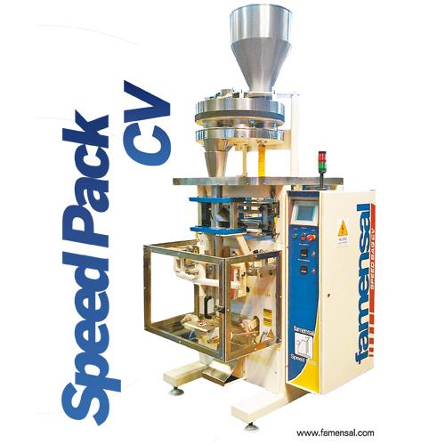 Speed Pack-CV Máquina Empacadora Vertical Automática de Copas Volumétricas.
