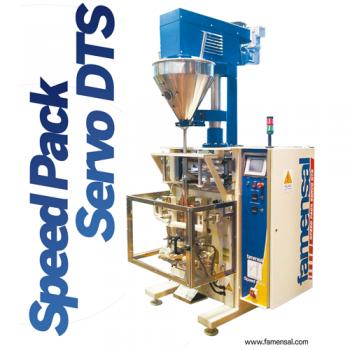 Envasadoras Automáticas - Polvos - Speed Pack Servo DTS