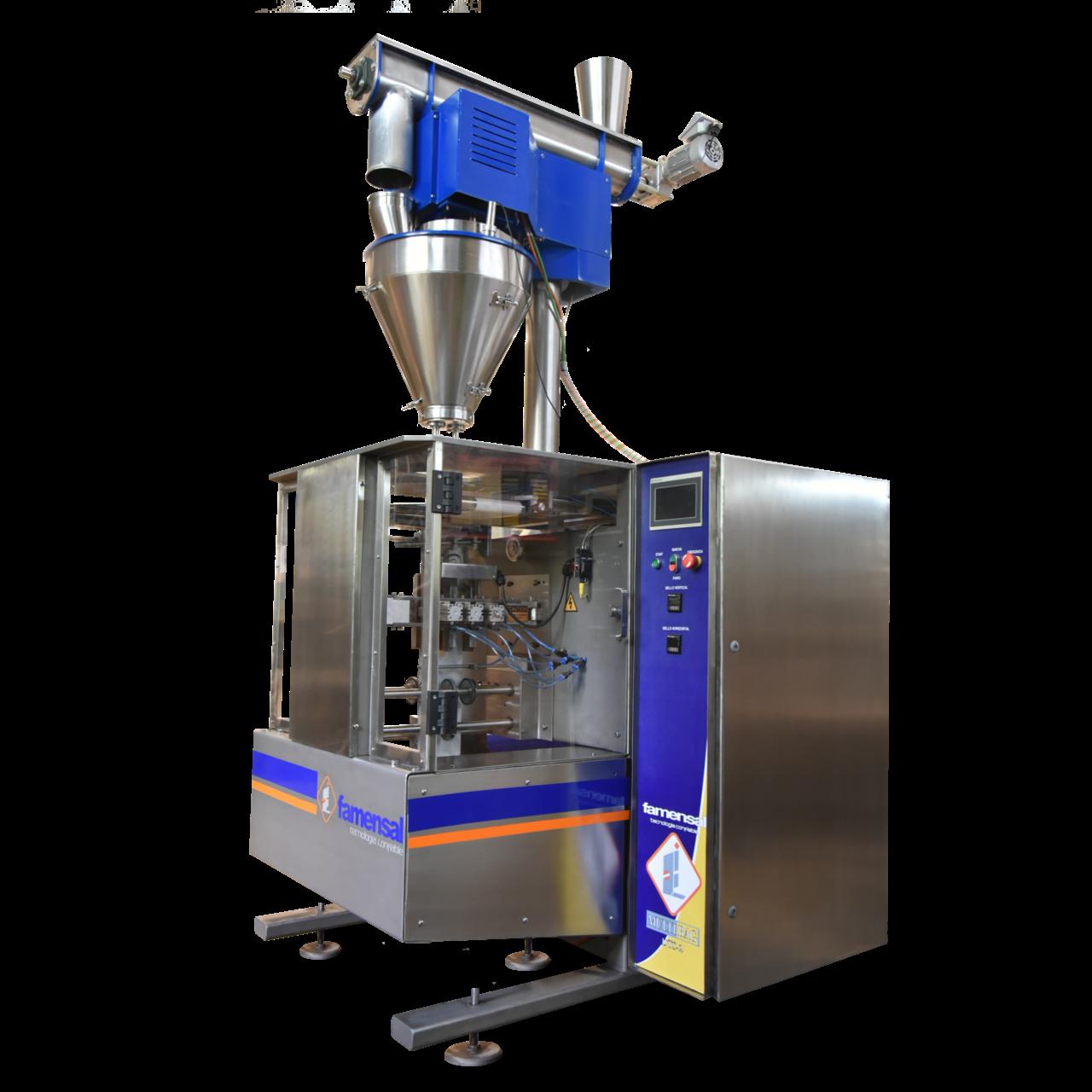 SACHET DTS-2 Envasadora vertical automatica polvo granulos finos